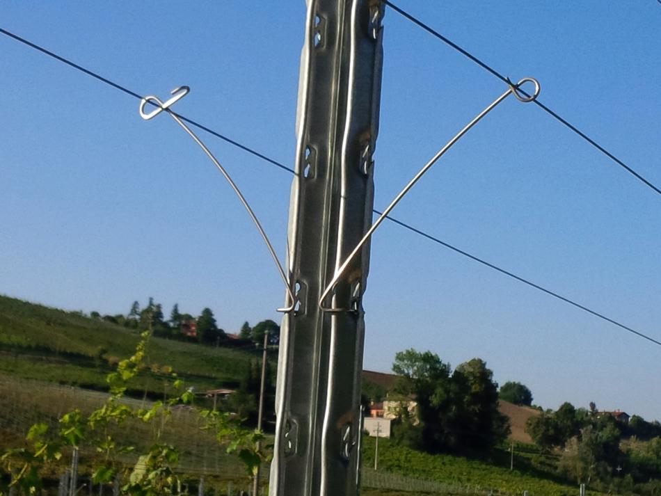 Distanziatore in acciaio inox per palo C1 MAXI(R)