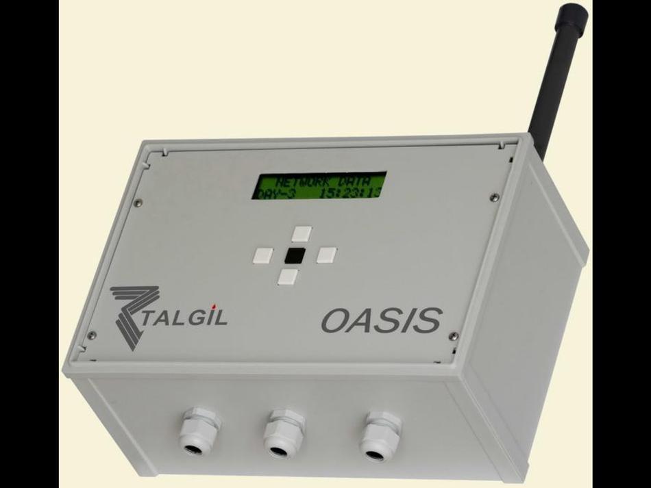 Centralina OASIS(R) alimentazione 12VDC  / uscite 12VDC bistabili + radio con modem