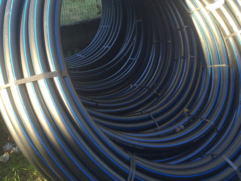 Tubo di polietilene PE100 PN10 UNI EN 12201
