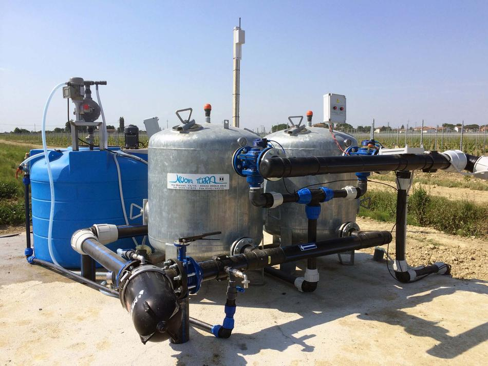 Stazione di filtrazione a graniglia