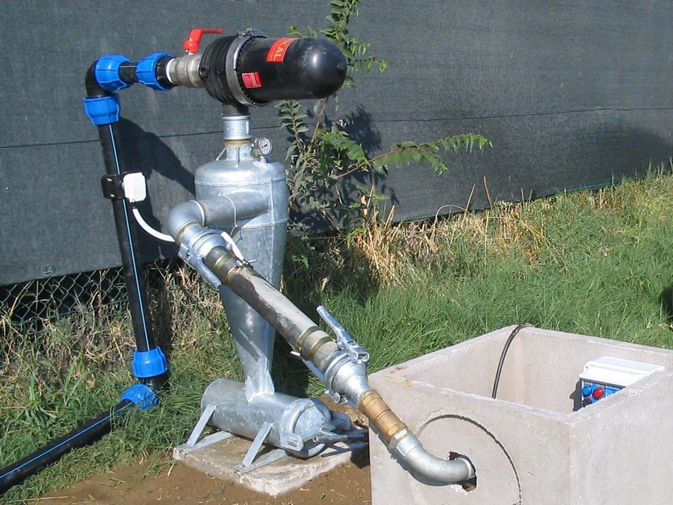 Filtrazione a vortice con idrociclone